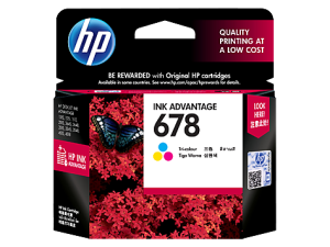 Hp ink 678 Tri colour cartridge original