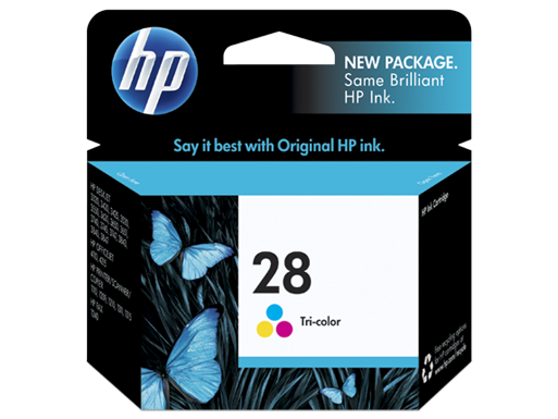 HP 28 Tri-color Ink Cartridge